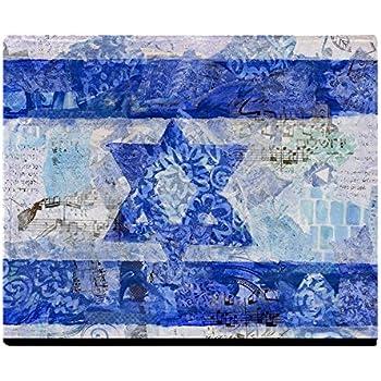 CafePress Flag of Israel Soft Fleece Throw Blanket, 50