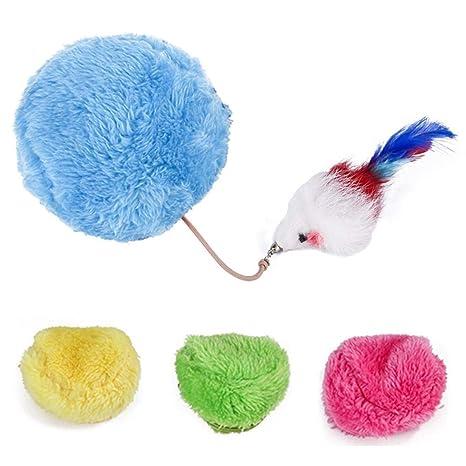 Pelota eléctrica de Felpa para Mascotas, Juguete con Forma de Rata ...