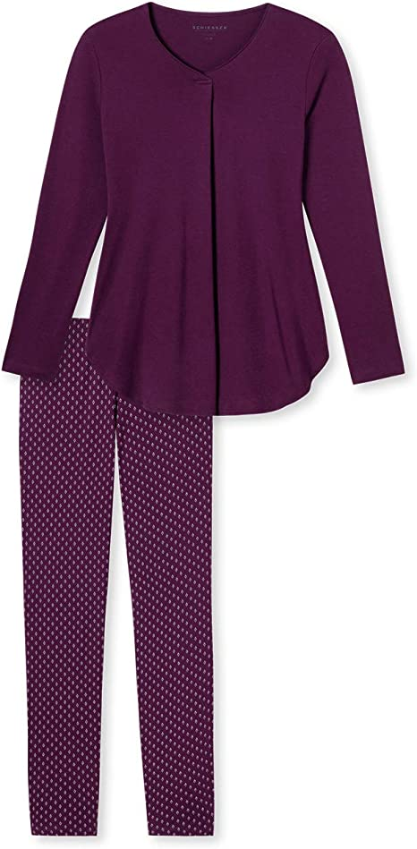 TALLA 48. Schiesser Anzug Lang Conjuntos de Pijama para Mujer