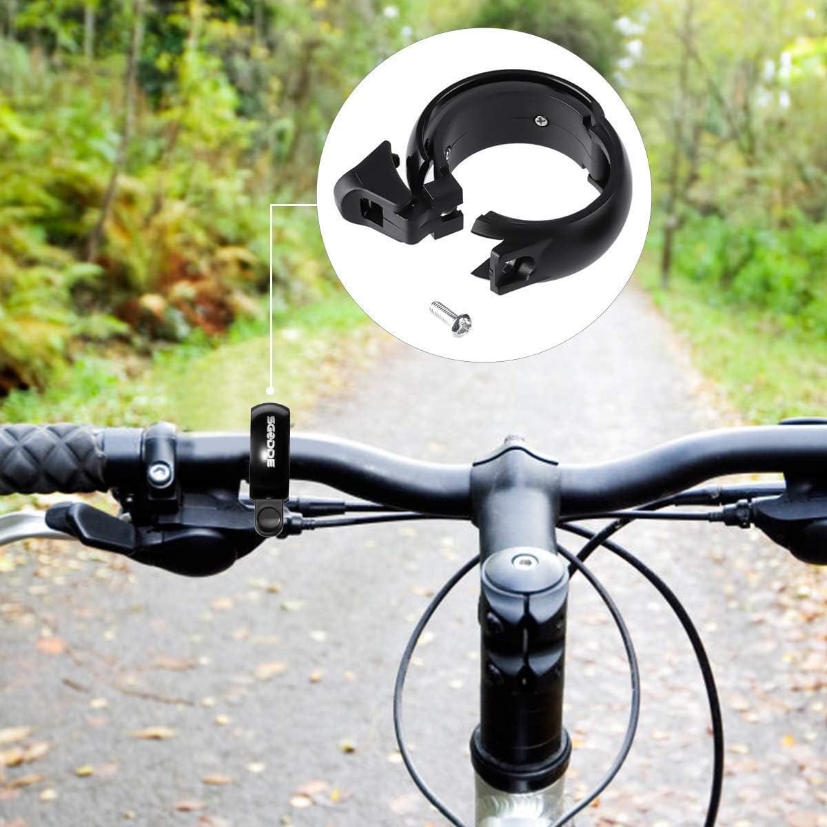 trekking vélo sonnette Noir 1 pièces Vélo sonnette miniglocke acier pour vtt