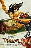 "Posters USA - Disney Classics Tarzan Poster - DISN144 (24"" x 36"" (61cm x 91.5cm))"