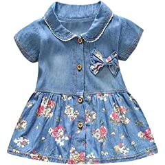 a95060189e9d2 Baby Girls 0-24m: Clothing: Bodysuits & One-Pieces, Tops, Outfits ...