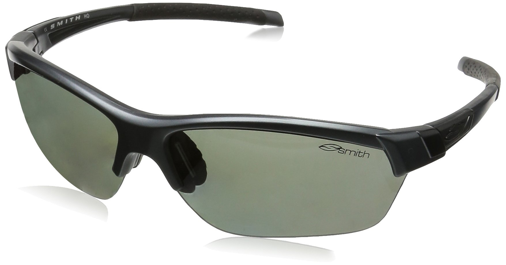 Smith Optics Approach Max (NEW) Sunglasses, Matte Graphite, Polarized Platinum/Ignitor/Clear by Smith Optics