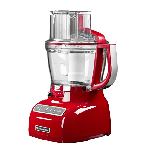 Amazon.de: Kitchenaid Küchenmaschine Food Processor 3, 1L, empire rot