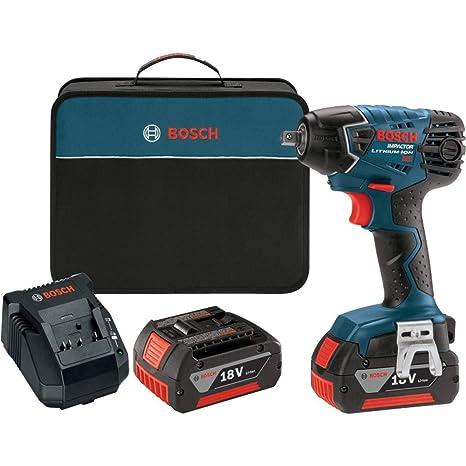 Amazon.com: Bosch iwh181 – 01 18 V Llave De Impacto Con 2 ...