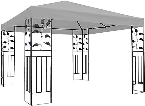 DSRC Tienda al Aire Libre 3x3m Jardín Gazebo Cubierta Superior ...