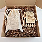 Oatmeal Stout Beer Soap Gift Box, Beer Soap Gift Sets For Dad, Beer Soap for Him, Funny Gifts for Hubby, Beer Bag-O-Soap, Father's Day Gifts
