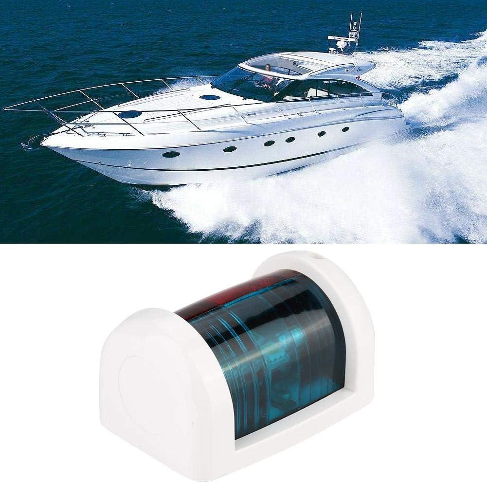 Navigationslicht 12V LED Mini Navigation Signalleuchte Lampe f/ür Marine Boot Yacht Gr/ün Rot