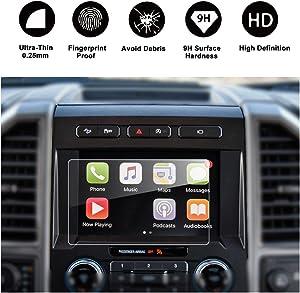 2015-2018 Ford F-150 250V 350 450 sync2 sync3 Car Navigation Screen Protector,8-Inch in-Dash Screen Protector High Clarity, Anti-Fingerprint & Anti-Scratch