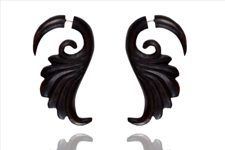 EthnicHandmade Wood Boho Wooden Stick Earring Combo6