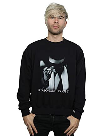 e33473cff5f24 Absolute Cult Jay Z Men's Reasonable Doubt Cover Sweatshirt at ...