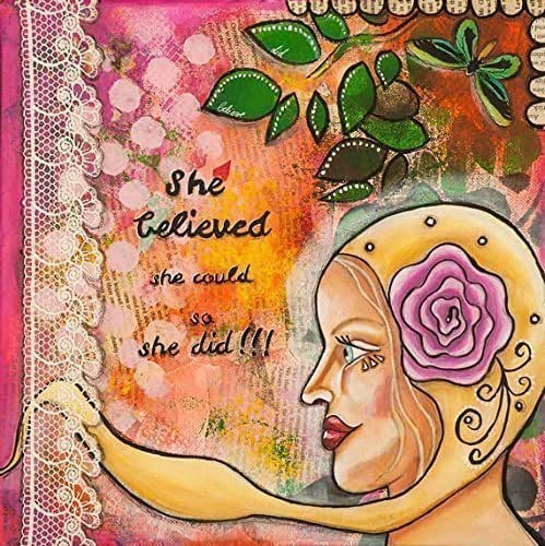 Amazon.com: Women Empowerment Quotes - She Believed She