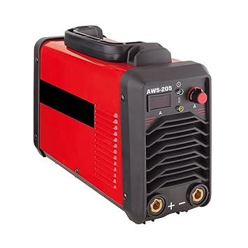 Amico aws-205 200 Amp Potencia Corp MMA 230 V soldador: Amazon.es: Bricolaje y herramientas