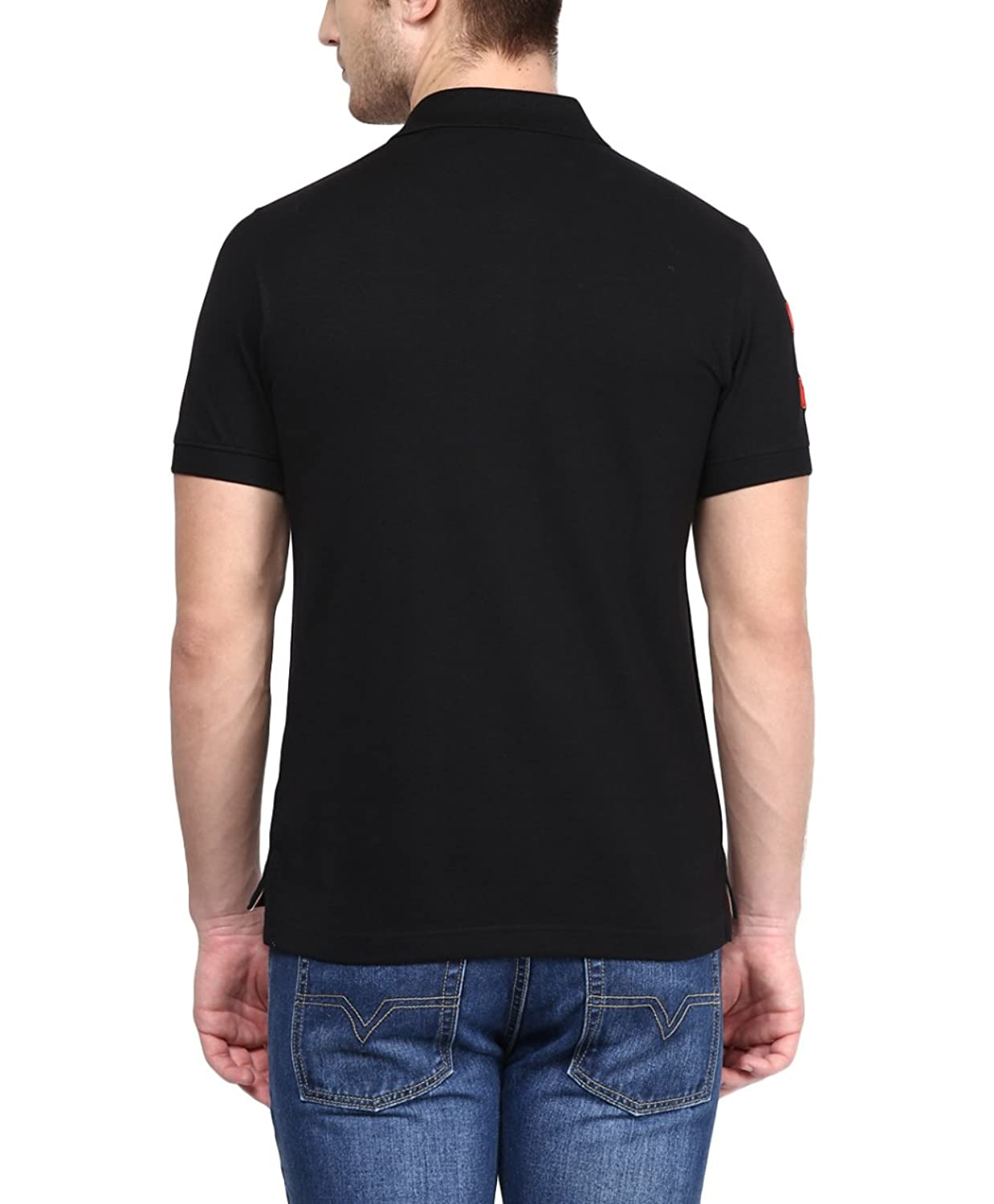Black t shirt collar - American Crew Men S Polo Collar T Shirt Amazon In Clothing Accessories