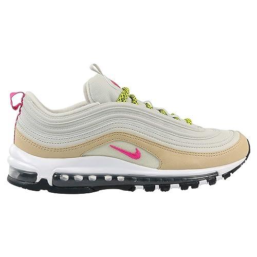 050342341b0ad Nike Air Max 97 Hueso Claro Cactus Brillante Rosa Fuerte  Amazon.es  Zapatos  y complementos