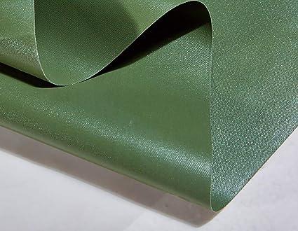 Lona De PVC Verde Impermeable Resistente con Ojales Y Bordes Reforzados para Lona De Toldo,