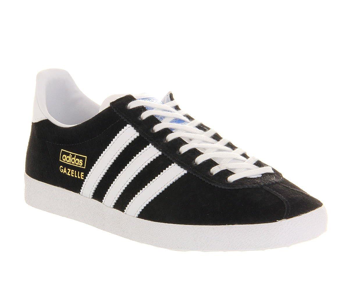 Adidas Originals Gazelle Mens Trainers Casual Shoes OG Suede Leather Black