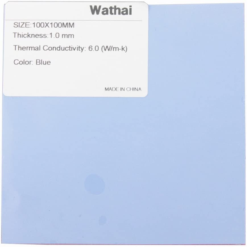 100x100mm 0.5mm Thermal Pad for All CPU Coolers Thermal Conductivity 1.5 W//mK