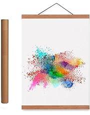 Magnetic Light Wood Poster Frame