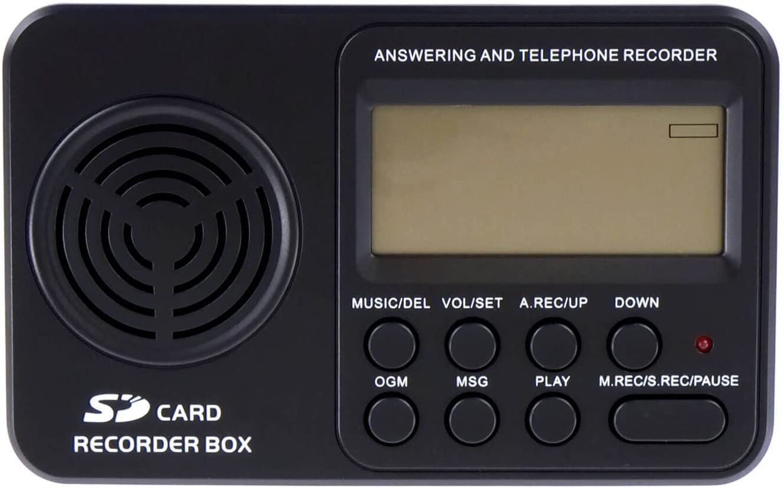 RecorderGear TR500 Landline Phone Call Recorder: Amazon.co.uk: Electronics