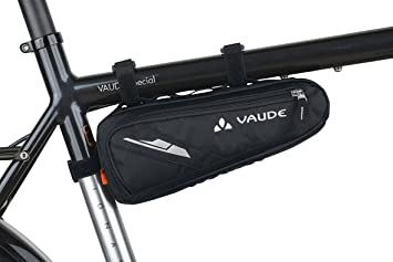 vaude cruiser bike frame bag black black