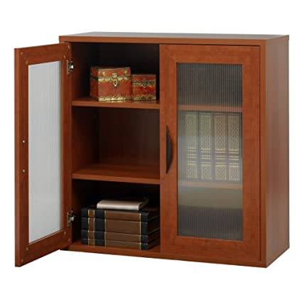 Storage Bookcase With Doors 30 In High