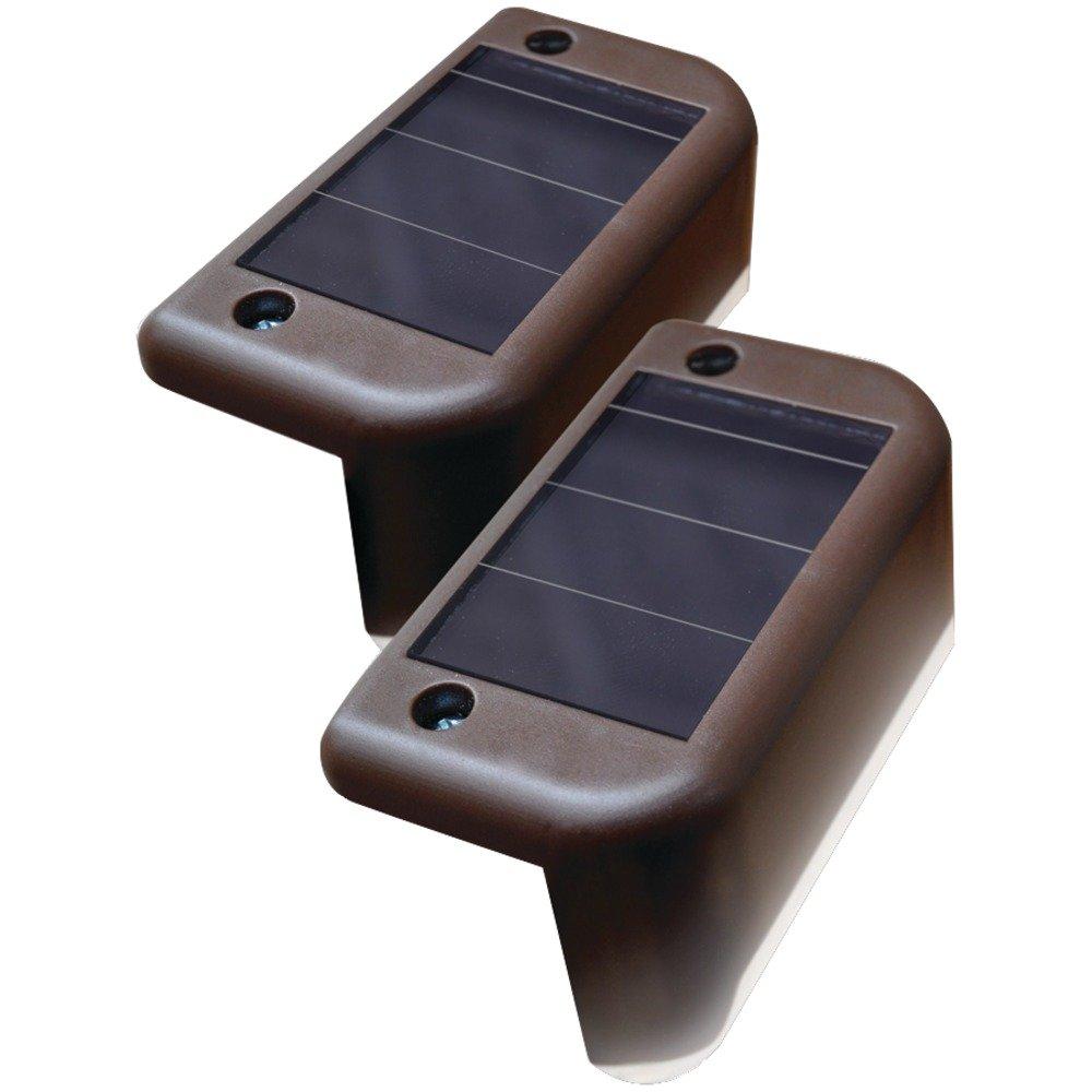 Maxsa Innovations 47332 Solar-powered Deck Lights, 4pk, ,
