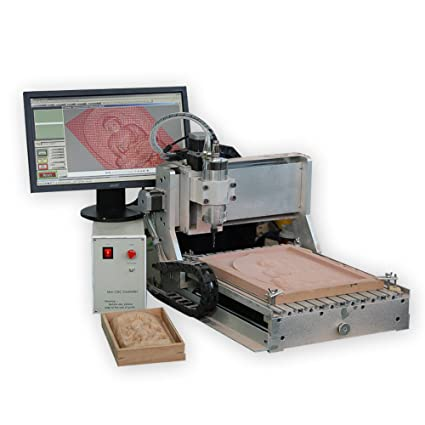 Amazon Com 4 Axis Cnc Small Wood Design Router 3040 800w