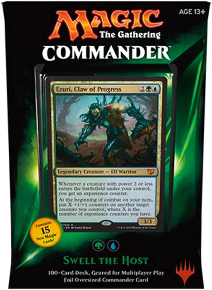 Magic: The Gathering MTG Commander 2015 Edition Swell The Host Green Blue Deck New Sealed
