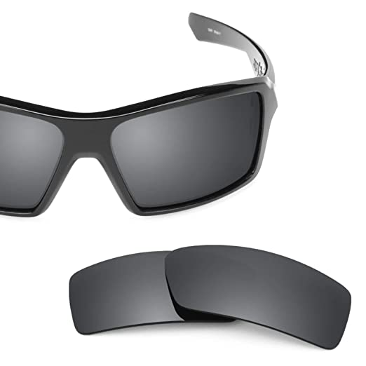 e1cd32cc8e7 Revant Polarized Replacement Lenses for Oakley Eyepatch 1 Elite Black  Chrome MirrorShield