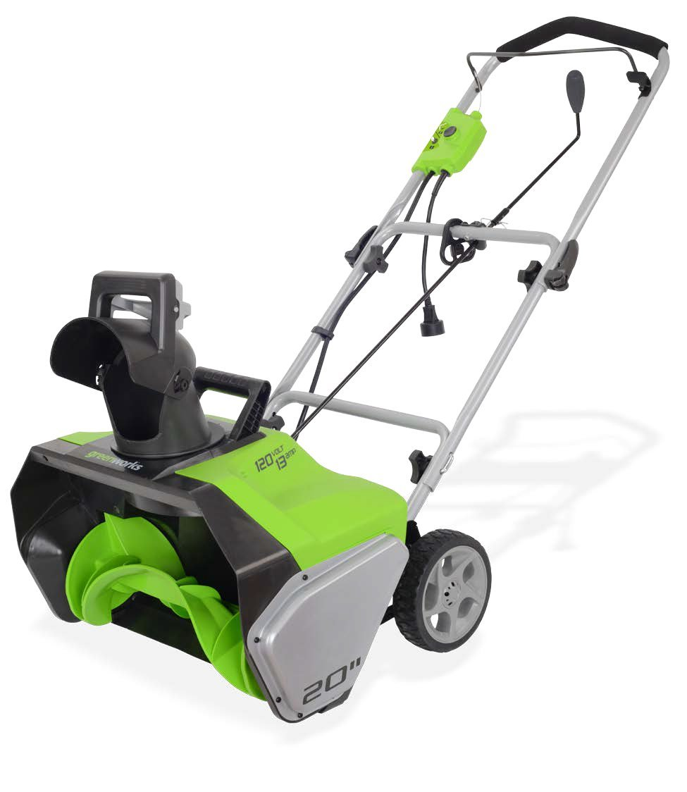 Greenworks 20-Inch 13 Amp Corded Snow Thrower 2600502 by Greenworks