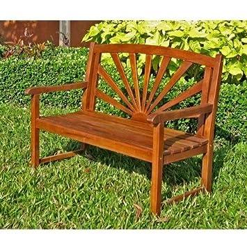 Acacia Patio Wood Garden Bench