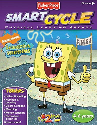 Fisher-Price Smart Cycle [Old Version] SpongeBob Ocean Adventure Software ()