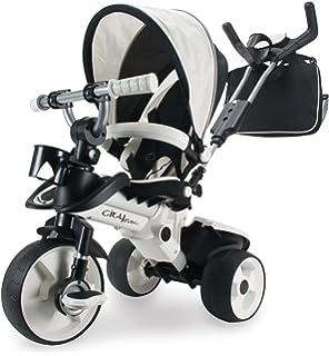 INJUSA - Triciclo City MAX para bebés a Partir de los 8 Meses, con Control