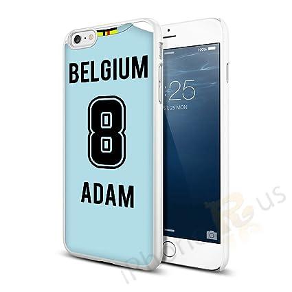 Bélgica Away colores personalizado camiseta de fútbol, cualquier nombre, cualquier número snap-on