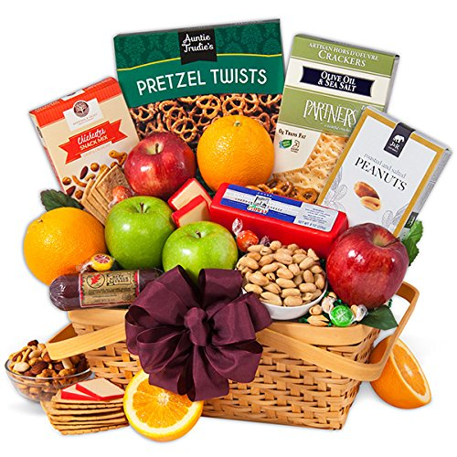 Nature's Picnic - Fruit Gift Basket