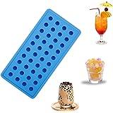 Vigorlife Eiswürfelform aus Premium Silikon für 40 perfekte Mini Eiskugeln. Himmelblau