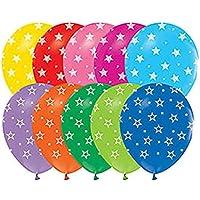 Kullan At Market Yıldız Baskılı Balon, Renkli