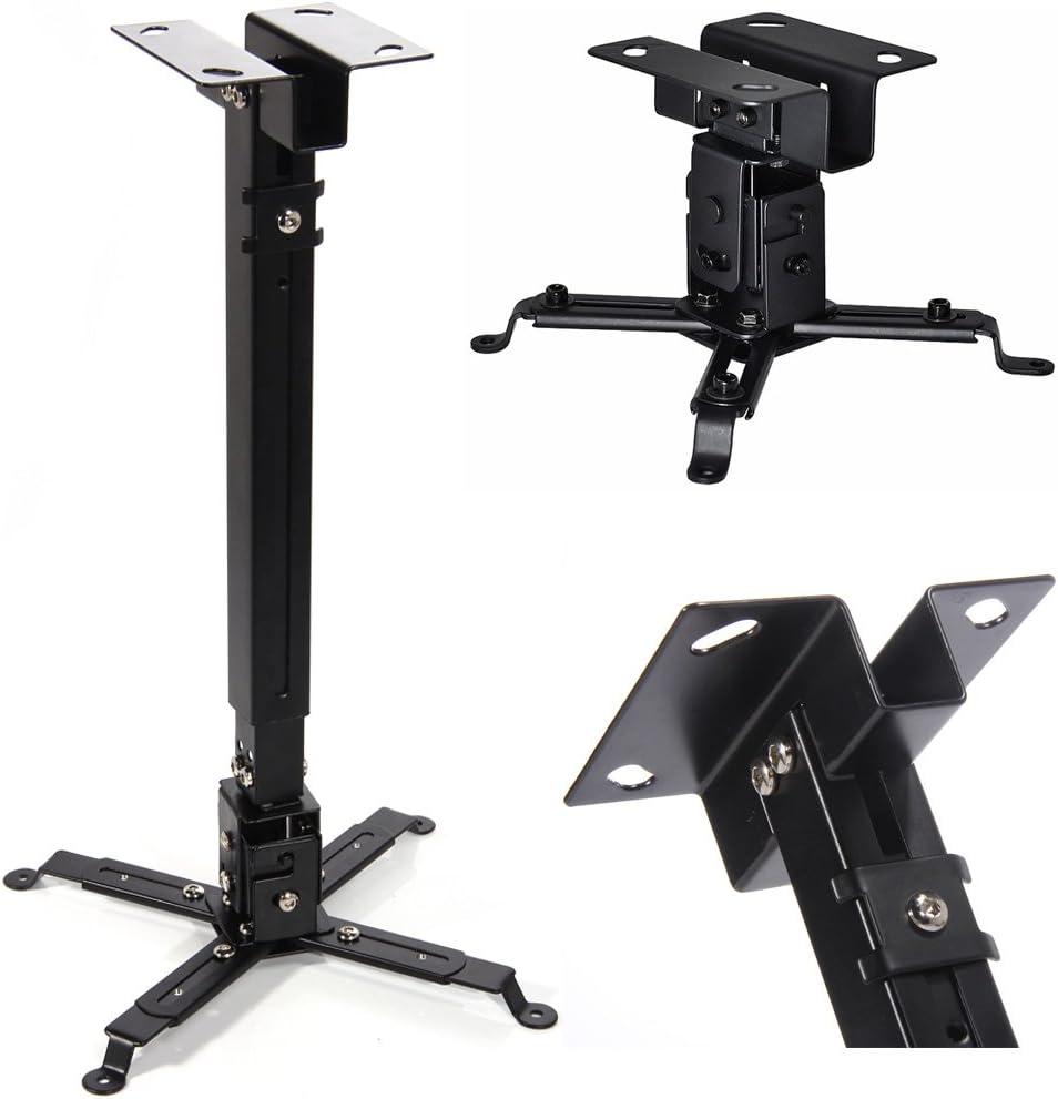 Adjustable Tilt LED DLP LCD Ceiling Universal Extendable Projector Mount Bracket