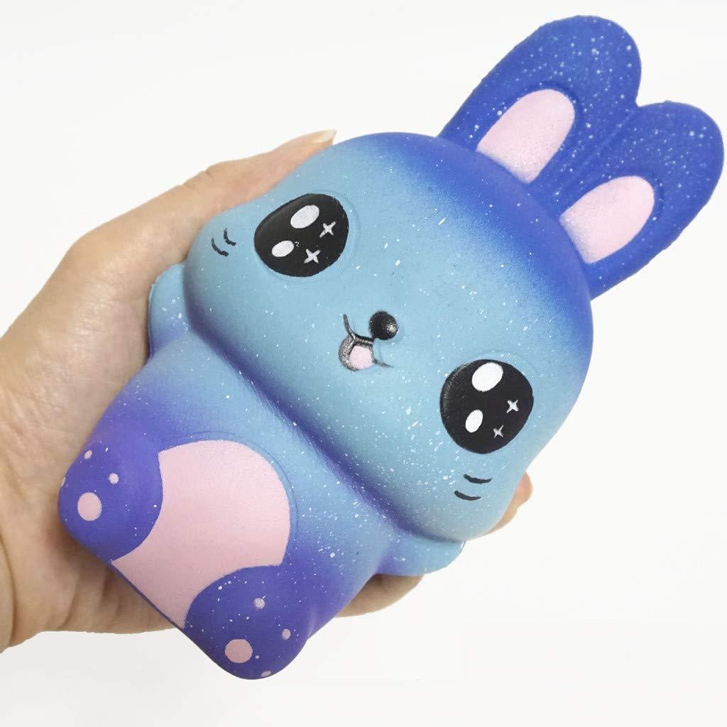 HappySDH - Juguete de Squishy antiestrés Reliever Kawaii Rabbit ...