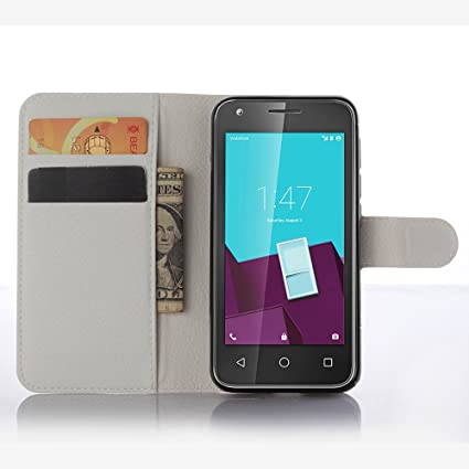 Ycloud Funda Libro para Vodafone Smart Speed 6, Suave PU Leather Cuero con Flip Cover
