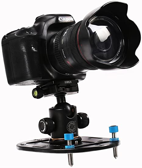 aoonar Mini trípode Base placa soporte de cámara universal de ...