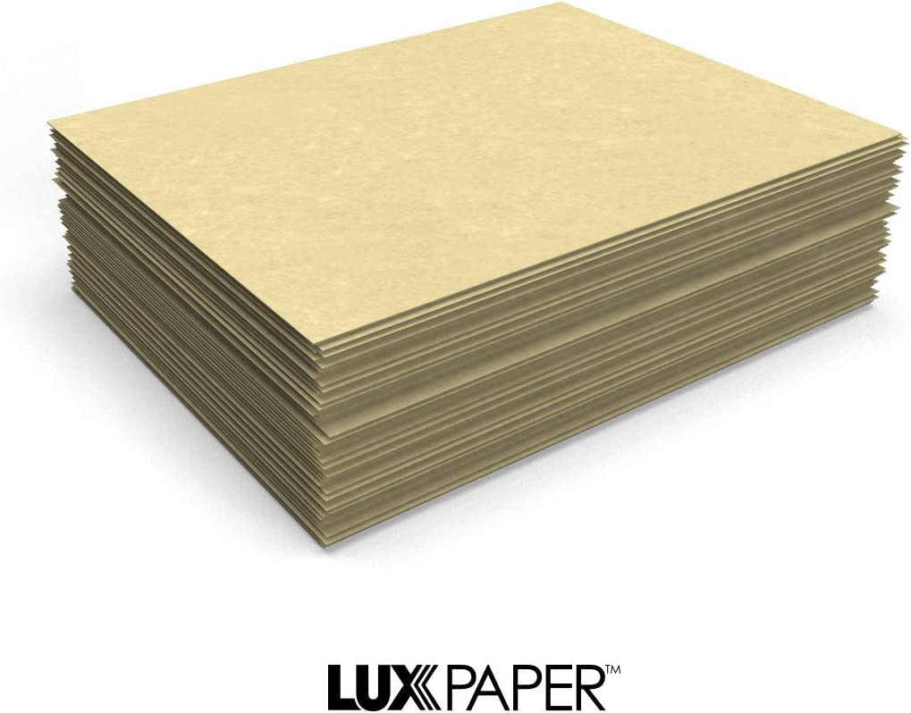 """LUXPaper 8.5/"""" x 11/"""" Paper for Crafts and Printing in Blue Parchment Blue 250 Pack Scrapbook and Office Supplies"""
