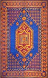Mad Mats Oriental Turkish Indoor/Outdoor Floor Mat, 6 by 9-Feet, Blue