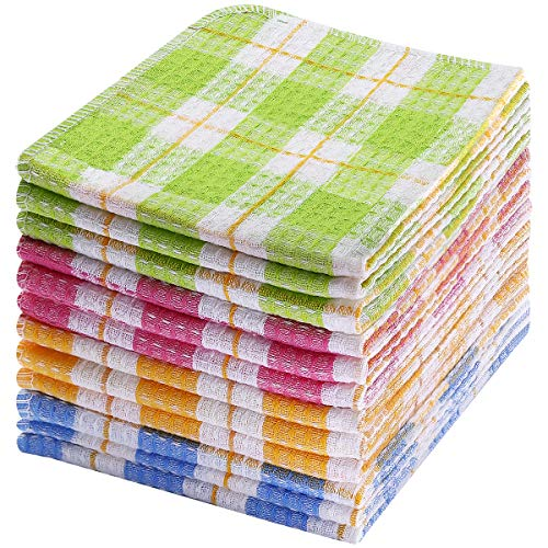 TNYKER Kitchen Dish Cloths, 12pcs