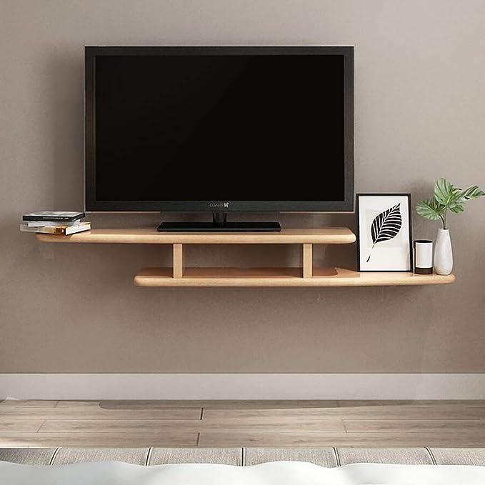 Amazon.com: Estantería nórdica de madera maciza para salón o ...