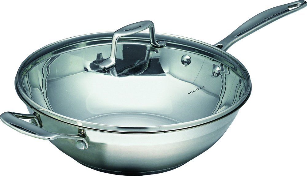 SCANPAN Impact 32 cm Wok with Lid SP71303200