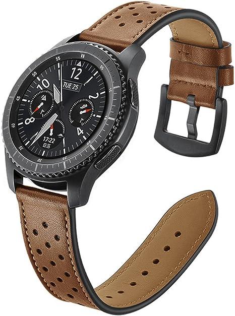 bracelet cuir samsung watch 46mm