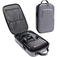 Esimen Fashion Travel Case for Oculus Quest VR Gaming Headset and Controllers Accessories Carrying Bag (Gray)