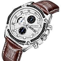 EDIR Men's Chronograph Watch (Black or Brown)
